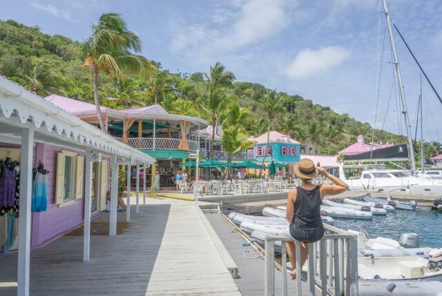 Britse Maagdeneilanden Caribische Britse Maagdeneilanden Tortola Sopers hole Wharf Marina