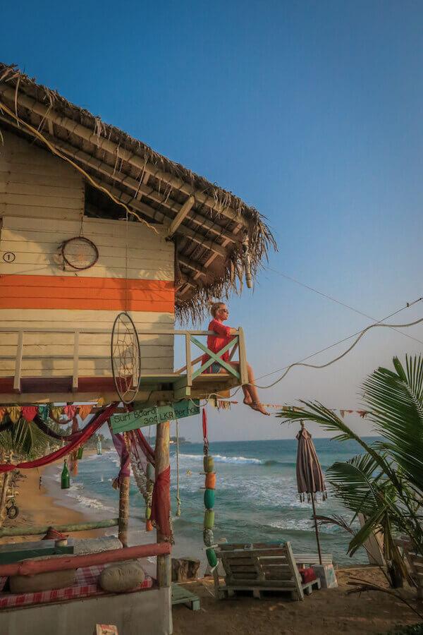 Vakantie Sri Lanka Galle Bara Beach Home strandhut