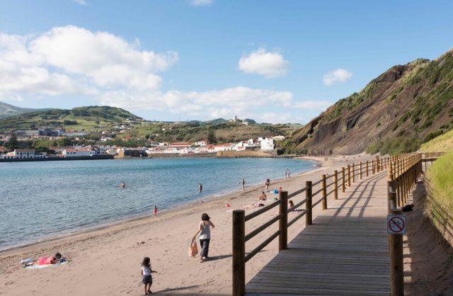 Porto Pim-strand Azoren
