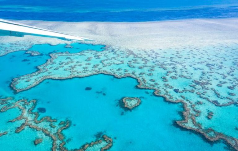 Whitsundays Great Barrier Reef Queensland Australië Heart Reef