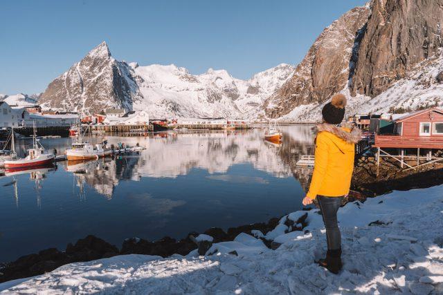 Hamnoy vissersdorp Lofoten