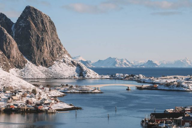 Lofoten vakantie Noorwegen Reine