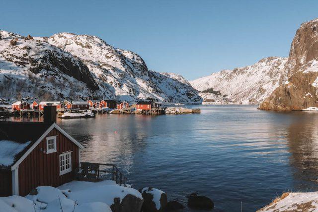 Nusfjord Loften vakantie