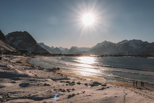 Ramberg Beach Lofoten