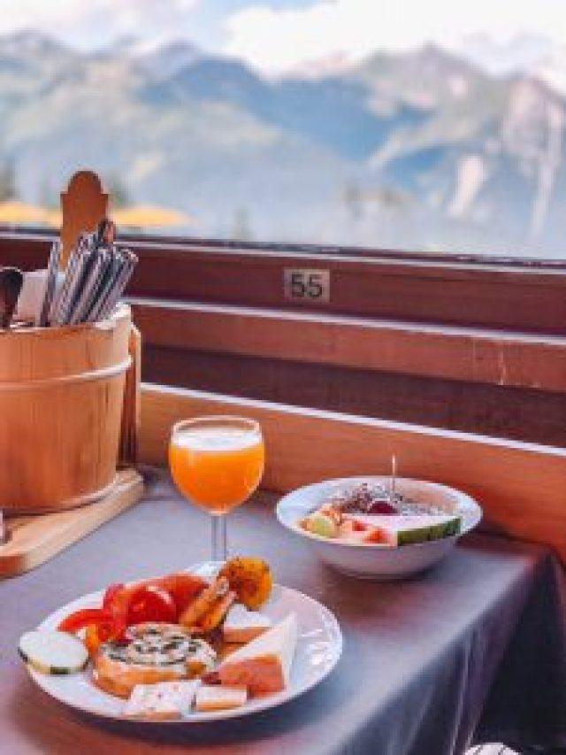 Bergfruehstueck Kapellenrestaurant Montafon
