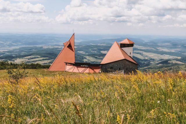 Sovata Transsylvanië Offroad Jeeptour-kapel