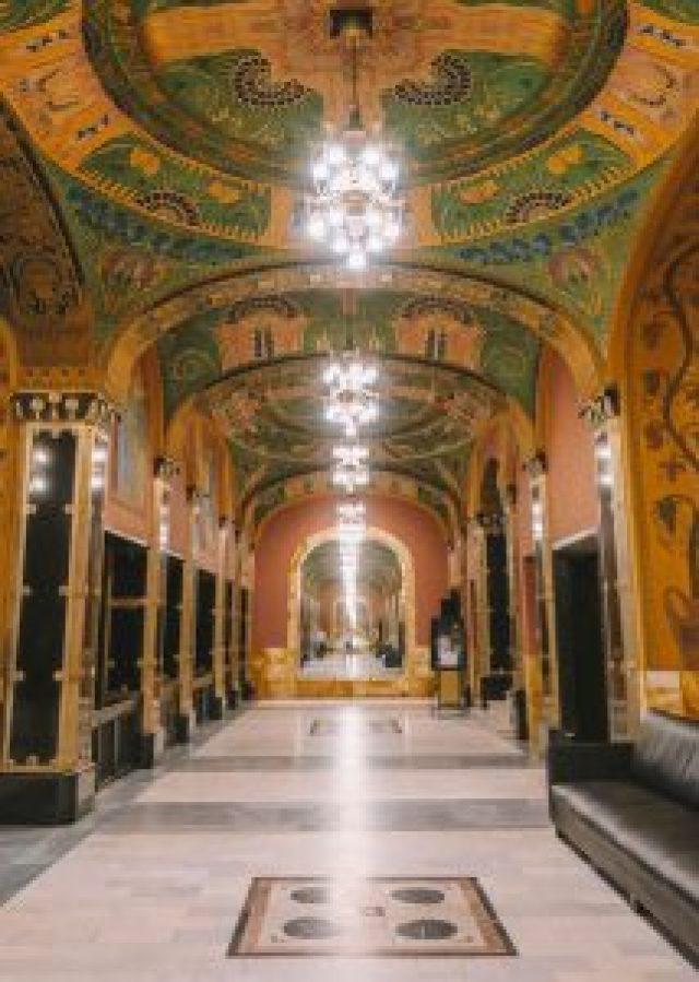 Targu Mures Paleis van cultuur Mirror Hall