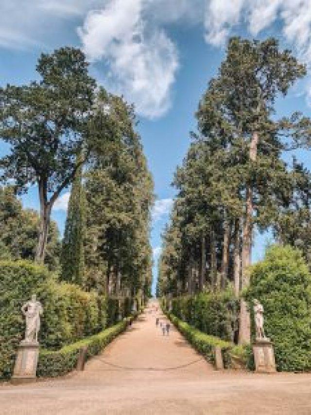 Boboli-tuinen Florence Sightseeing