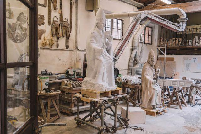 Restauratie van bezienswaardigheden in Florence