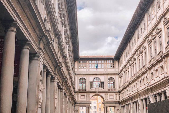 Attracties in Florence Uffizi buiten