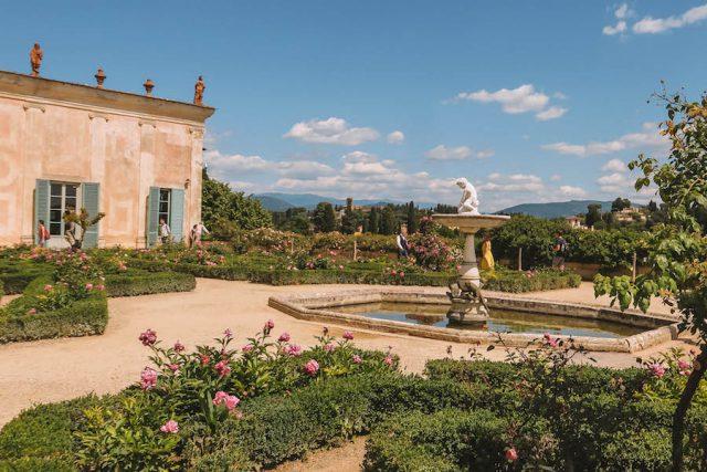 Porseleinmuseum Boboli-tuinen Florence