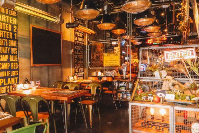 Osaka America-murarestaurant