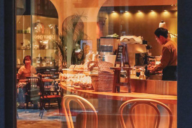 Osaka Sightseeing Orange Street Cafe