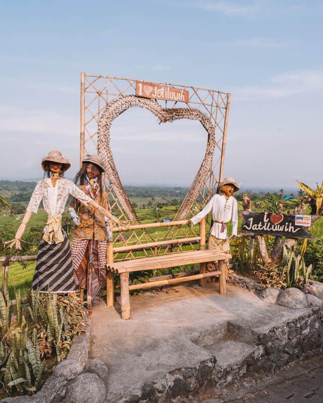 Bali attracties Jatiluwih rijstvelden