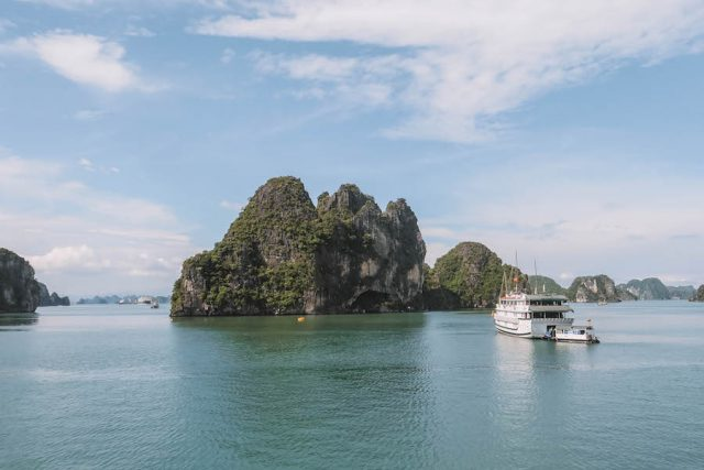 Halong Bay Tour landschap