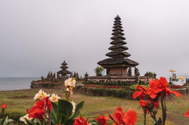 Pura Ulun Danu Bratan-tempel Munduk