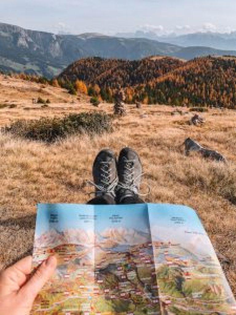 Zuid-Tirol wandelkaart