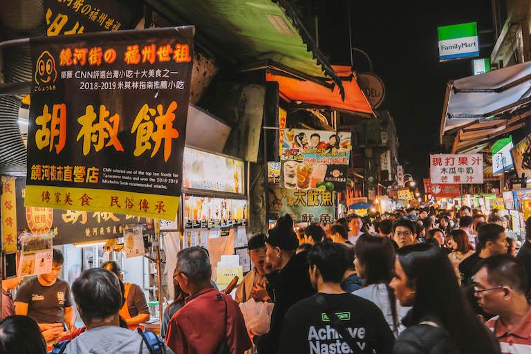Shilin Night Market Michelin-ster