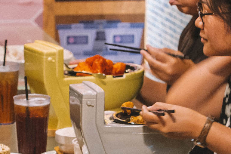 Taipei Modern Toilet Restaurant eten