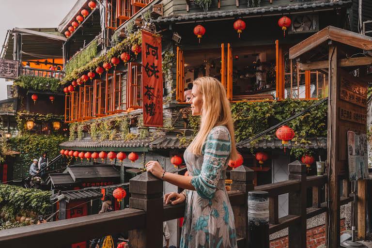 Taipei attracties Jiufen theehuis