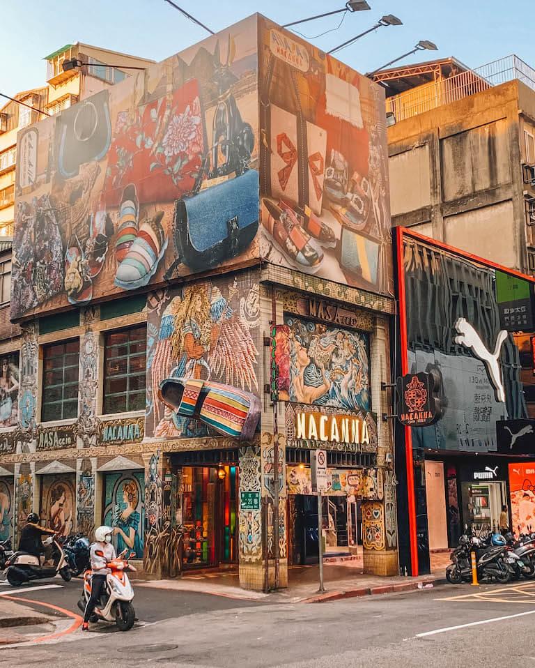 Taipei attracties straatkunst