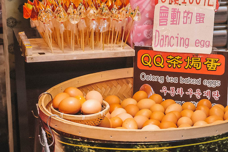 Thee-eieren Taiwan