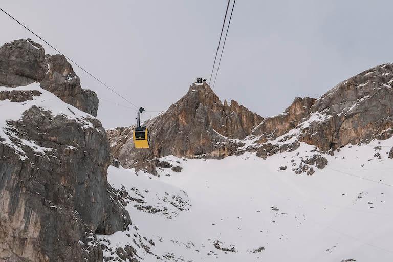 Topstation Dachstein-gondel
