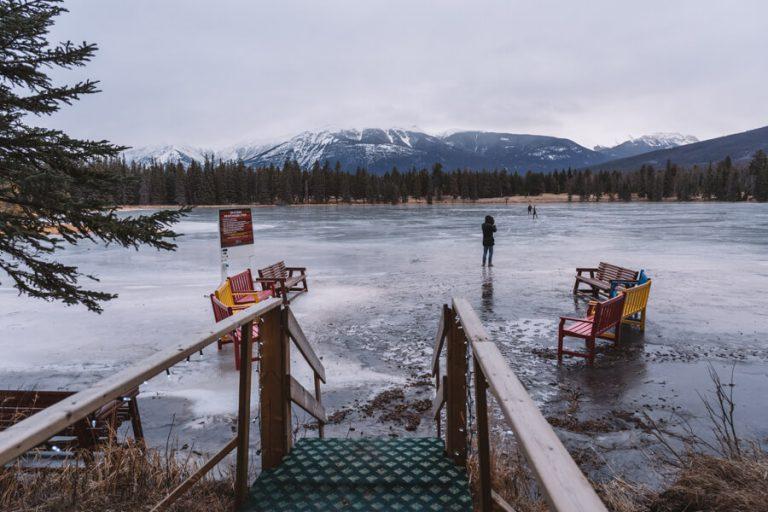 Fairmont Jasper Park Lodge schaatsen