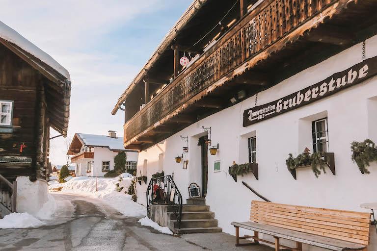 Langlaufen Oostenrijk Ramsau Gruberstube