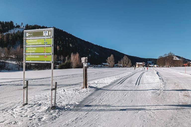 Langlaufen Oostenrijk Ramsau am Dachstein parcours