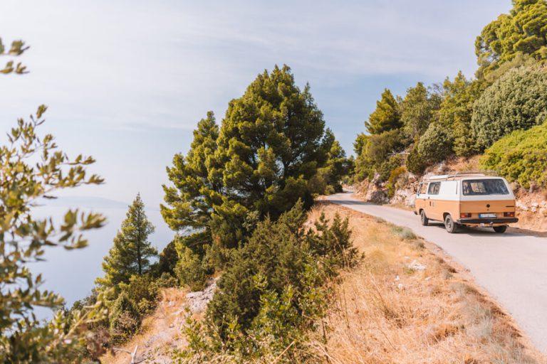 Panoramische weg Trstenik Peljesac