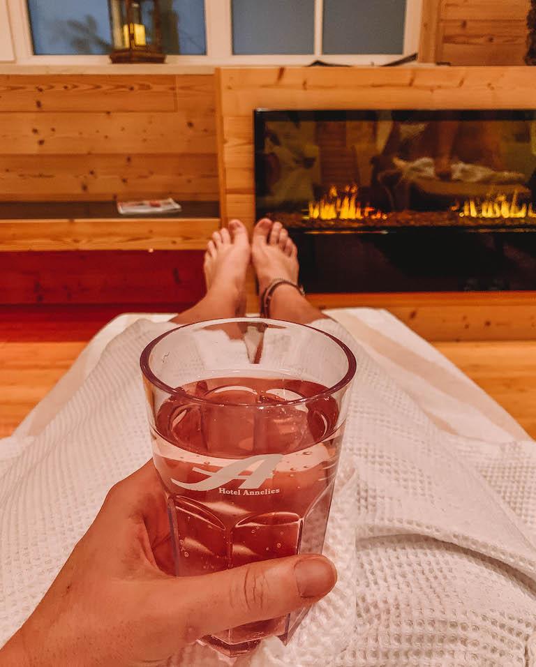 Ramsau am Dachstein Hotel Annelies wellness ontspanningsruimte