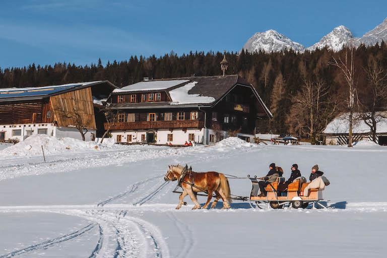Ramsau am Dachstein koets rijden