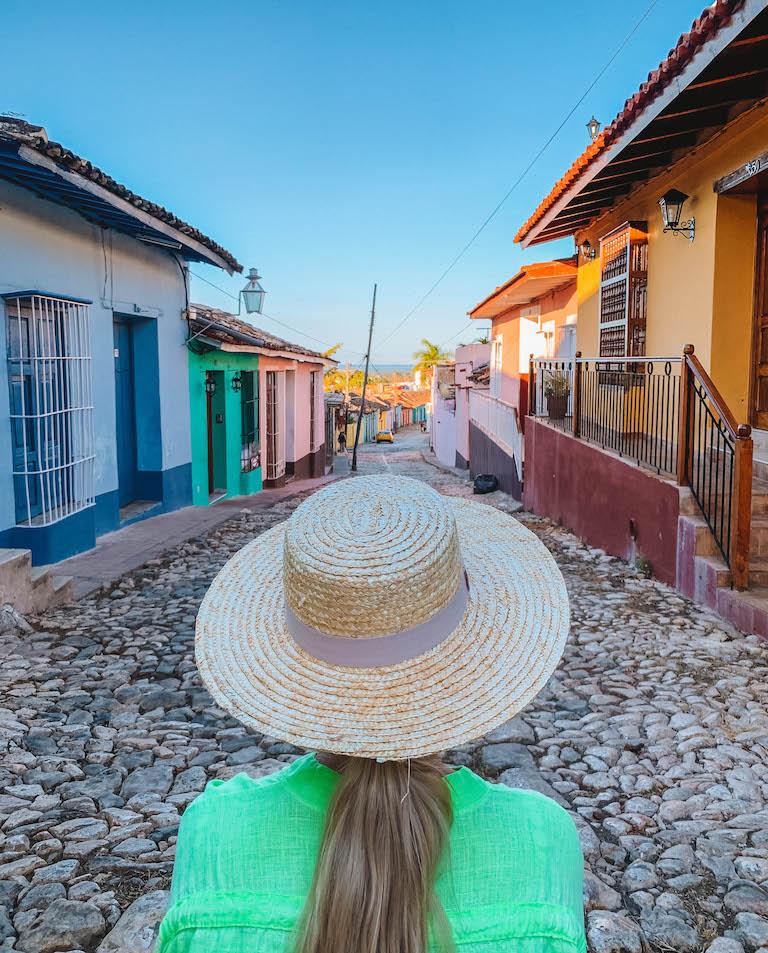 Trinidad Cuba kleurrijke huizen
