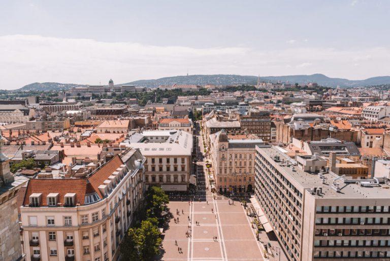 Budapest bezienswaardigheden St. Stephen's Basiliek uitzicht