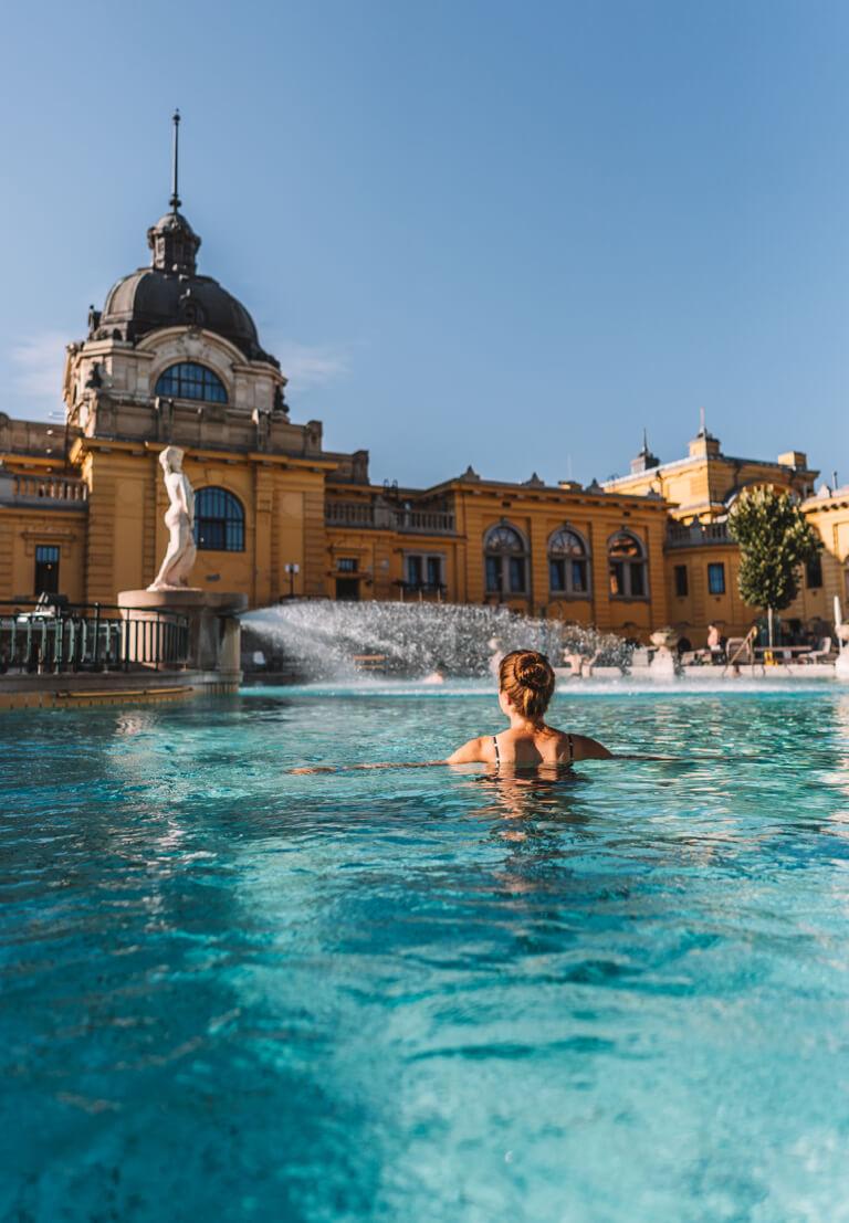 Boedapest attracties Szechenyi thermaal bad