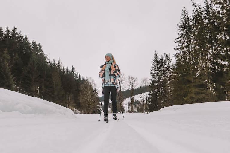 Langlaufen Kitzbüheler Alpen Pillerseetal
