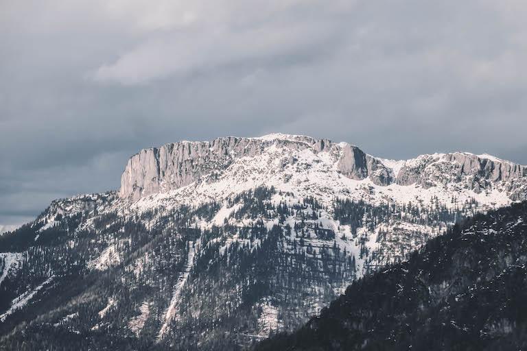 Kitzbuehler Alpen stenen plaat