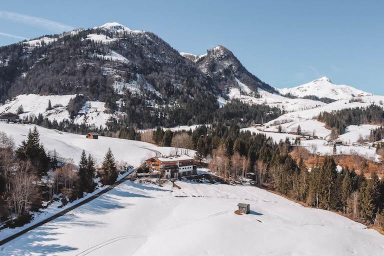 Bergpanorama Lauchsee Tirol