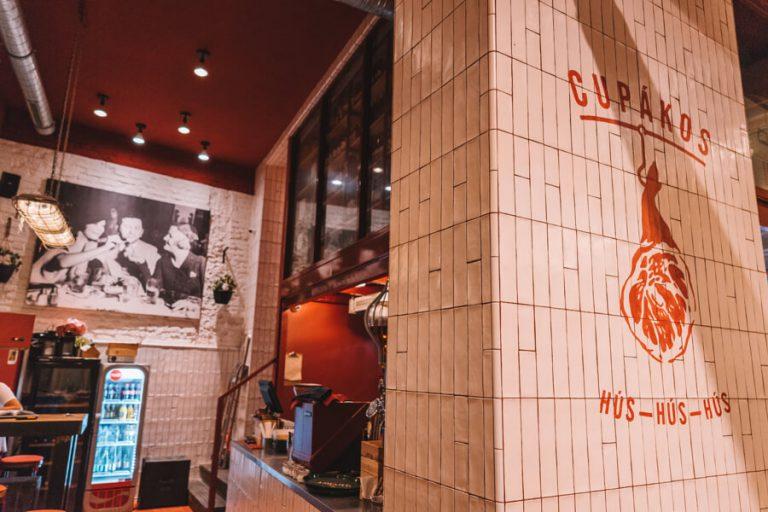 Cupakos Restaurant Boedapest