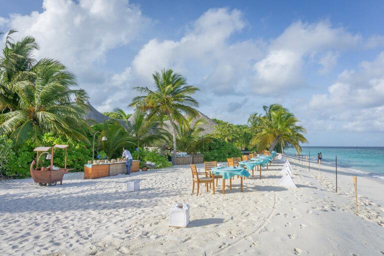 Restaurant Coco Palm Dhuni Kolhu Maldives Islands