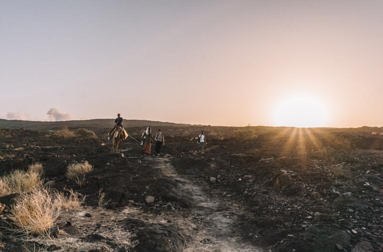 Erta Ale vulkaan Ethiopië Danakil woestijn