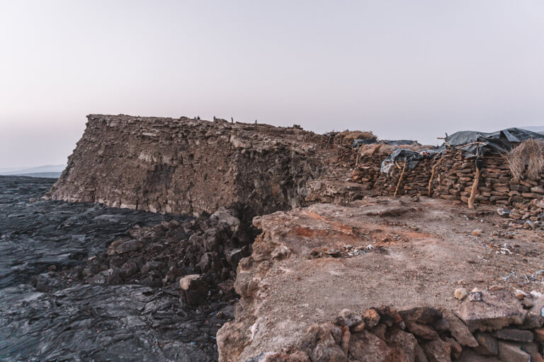 Erta Ale vulkaan Ethiopië