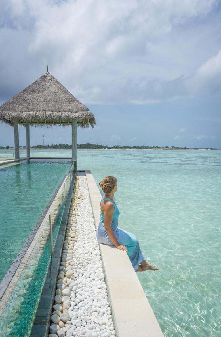Gili Lankanfushi Resort Zwembad