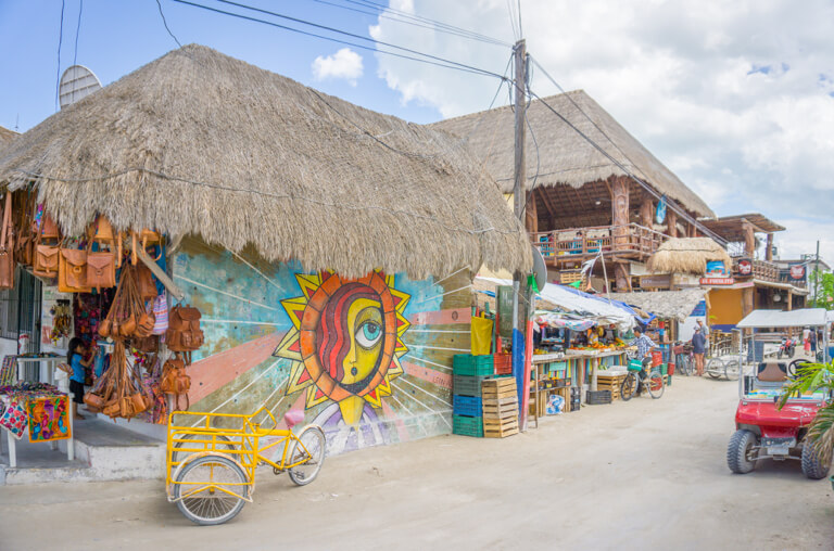 Isla Holbox Downtown Mexico