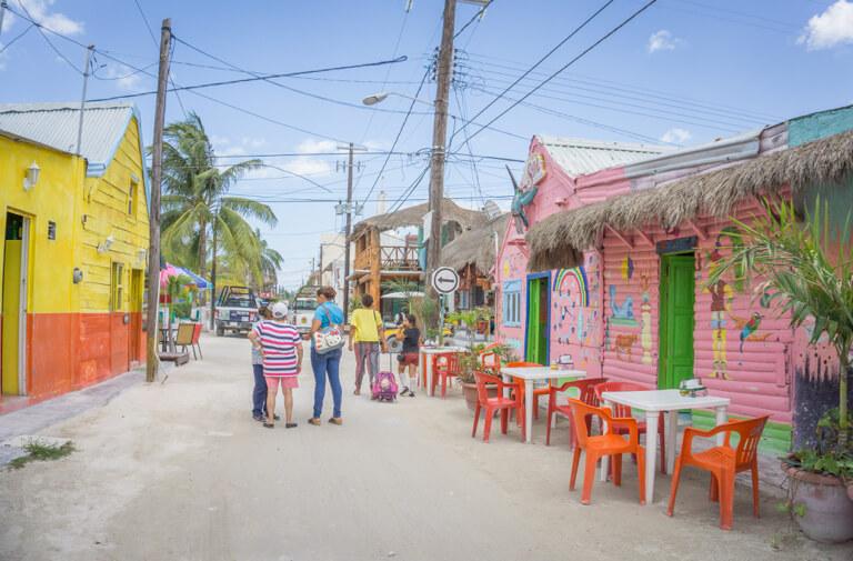Isla Holbox Mexico zandpaden