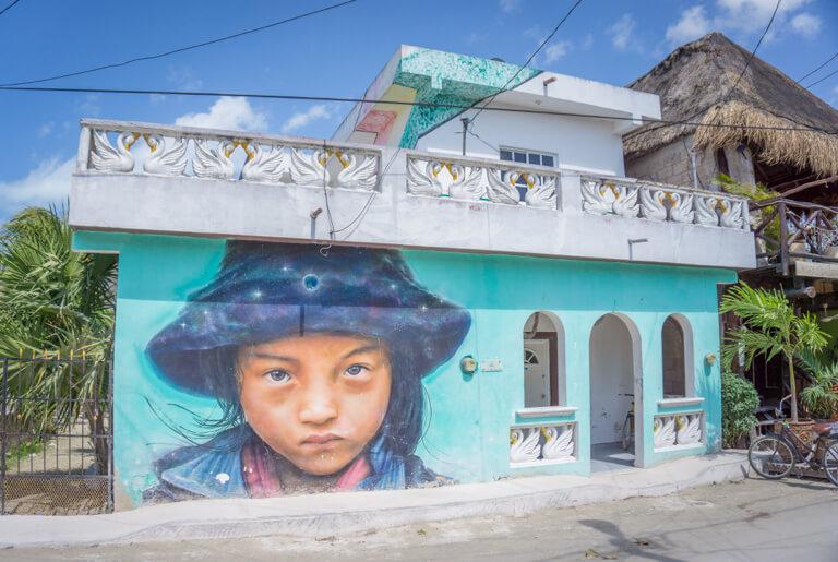 Isla Holbox Mexico straatkunst Jano Jace