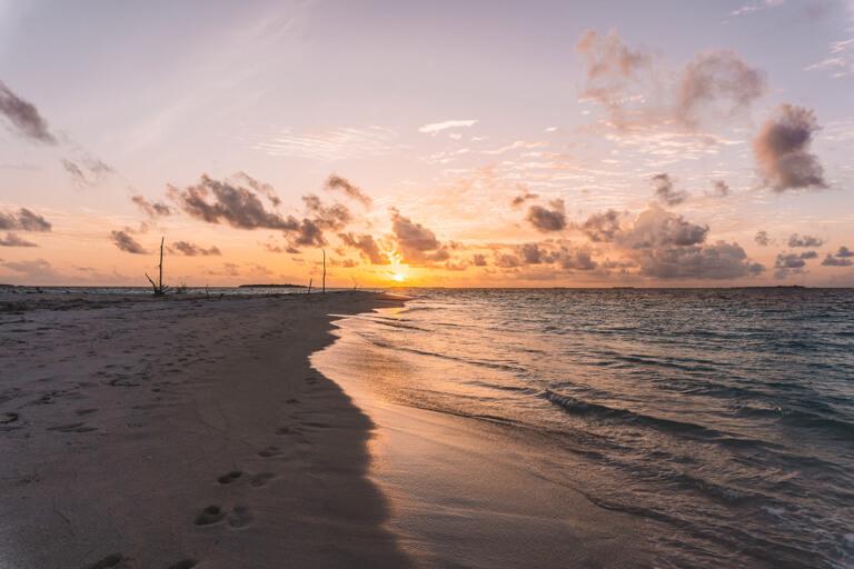 Mooiste eiland van de Malediven zeelichten