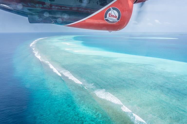 Watervliegtuig Maldiven Islands Atoll