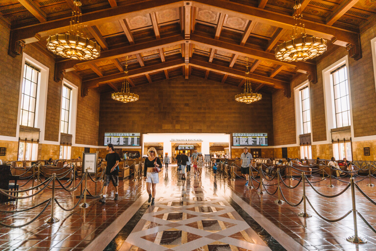 Attracties in Los Angeles Union Station